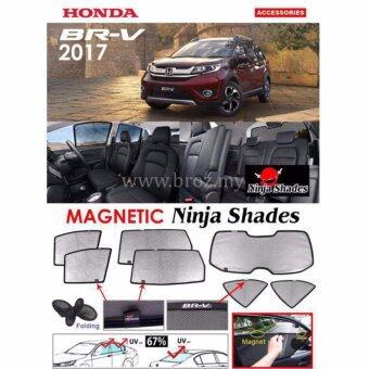 Harga Magnetic Ninja Shades Custom Fit OEM Sunshade for Honda BRV BR-V