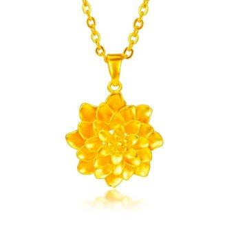 Harga ONLY 24K Golden A Blooming Flower Necklace
