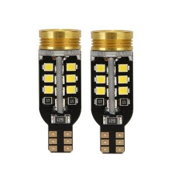 Harga TKOOFN 2x Xenon Canbus 921/W16W T15 24SMD LED 2835 Backup Reverse Bulbs Light Lamp White