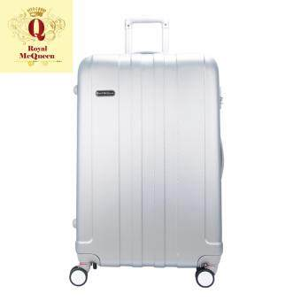 Harga Royal McQueen Hard Case Extra Light 8 Wheels 20 Luggage – QTH 6911 - SILVER""