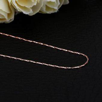 Harga C002 China supplier 18k gold plated long chain