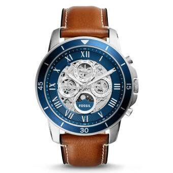 Harga Fossil ME3140 Men's Grant Sport Automatic Luggage Leather Watch