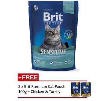 Harga Brit Premium Cat Sensitive Lamb 1.5kg