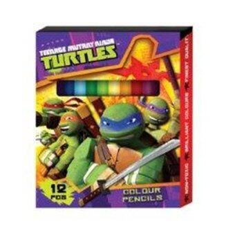 Harga Teenage Mutant Ninja Turtles 12PCS Short Colour Pencil - Purple Colour