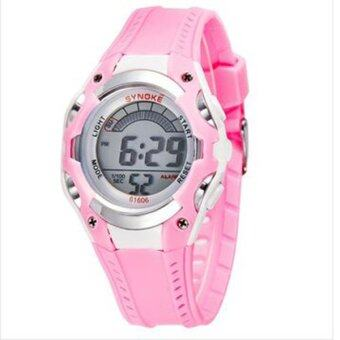 Harga Synoke 61606 LED Display Students Sport Wristwatch Outdoor Watch Pink