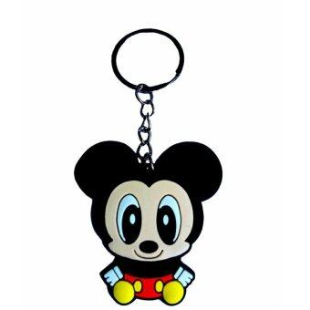 Harga Cute Mickey Mouse PVC Key Chain Key Ring Keychain