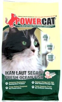 Harga PowerCat Fresh Ocean Fish 1.4kg