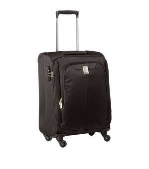 Harga Delsey Expert 53 cm 4 Wheel Cabin Trolley Case – Black