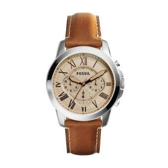 Harga FOSSIL FS5118 Grant Beige Dial Chronograph Men's Watch