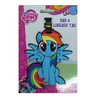 Harga My Little Pony Luggage Tag - Blue Rainbow Dash