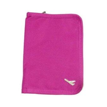 Harga Travel Passport Holder Wallet Case -Pink