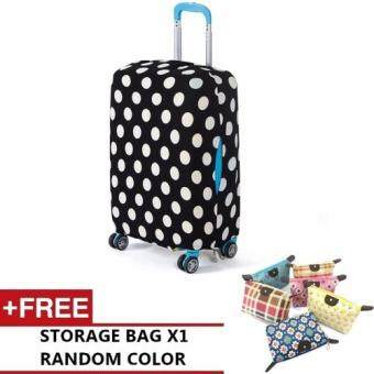 Harga Joytour Stretchable Elastic Travel Luggage Suitcase Protective Cover (Style A) - M