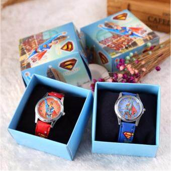 Harga 【NEW in BOX】Superman Kids Watches(Ready Stock)