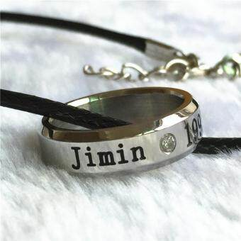 Harga BTS Bangtan Boys Wings Album Jimin Rope Ring Accessories KPOP Jewelry Rings With Lanyard