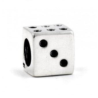 Harga The Vasilisa Sterling Silver Lucky Dice Charm