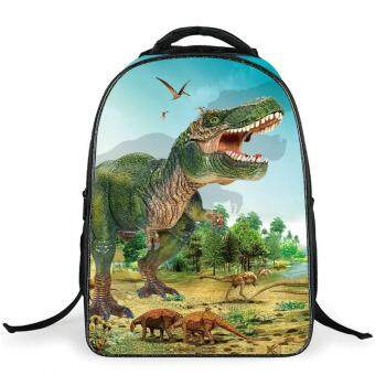 Harga The new dinosaur school bags, children's shoulders the burden of the backpack, a generation of fat, derivative free agent