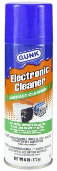 Harga GUNK ELECTRONIC CLEANER CONTACT CLEANER -6.OZ