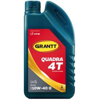 Harga GRANTT QUADRA 4T SAE 10W-40 API SM (Synthetic Blend 1L)