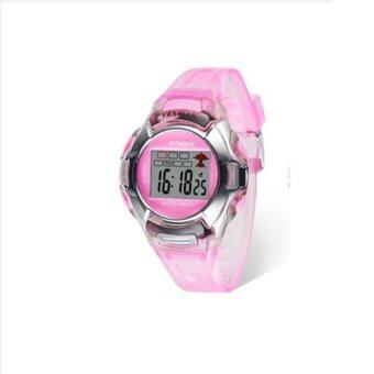 Harga Synoke 99329 Children Electronic Watch Sport Wristwatch Waterproof 30M Pink