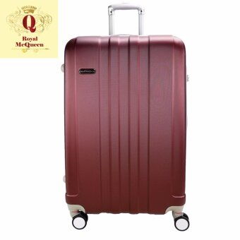 "Harga Royal McQueen Hard Case Extra Light 8 Wheels 20"" Luggage -QTH6911 - Maroon"