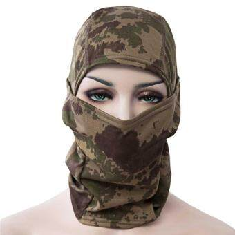 Harga Full Face Motorcycle Tactical Skiing Cycling Face Mask(Camouflage)