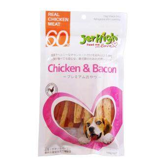 Harga Jerhigh Chicken & Bacon 100 Gram (Japanese Packaging) x 12 Packs