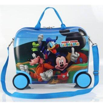 Harga Kids Trolley Luggage - Mickey Club House