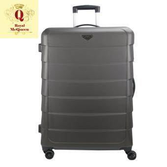 Harga Royal McQueen Double Wheels Spinner 24 inch Hard Case Luggage – QTH 6909 BROWN