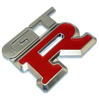 Harga GTR Metal 3D Car Emblem Badge GTR Car Sticker GTR Logo Metal Sticker Aluminium Car Styling Insignia GTR