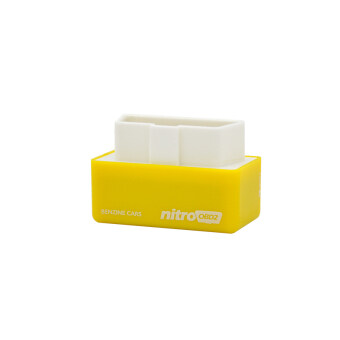 Harga Nitro OBD2 Performance Chip Tuning Box Works For Gasoline Petrol Cars Yellow