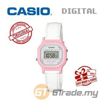 Harga CASIO Kids Ladies LA-11WL-4A Digital Watch | Small Cute Petit Leather