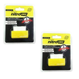 Harga 2 PCS Nitro OBD2 For Petrol Car Chip Performance Tuning Plug & Play Auto ECU Remap