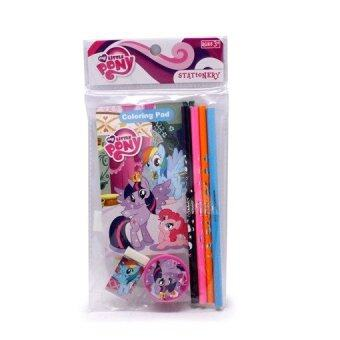 Harga My Little Pony Stationery Set Value Pack - Purple Colour