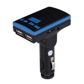 Harga BT USB Charger LCD Car Kit MP3 Bluetooth FM Transmitter