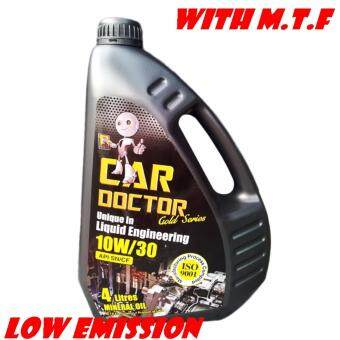 Harga PREMIUM ENGINE OIL CAR DOCTOR MINERAL OIL BASE 10W/30 WITH M.T.F