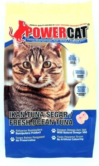 Harga PowerCat Fresh Ocean Tuna 1.4kg