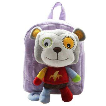 Harga Sozzy Kids Children Backpack Shoulder Bag with Cute Funny Plush Toy