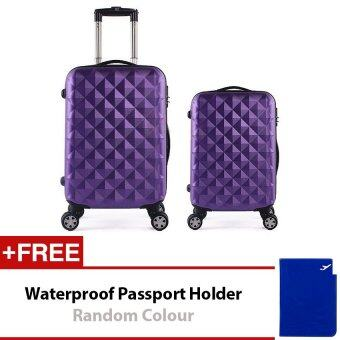 Harga Travel Star SD Series 2 in 1 Luggage Set Purple