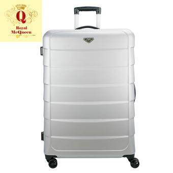 Harga Royal McQueen Double Wheels Spinner 28 inch Hard Case Luggage – QTH 6909 SILVER