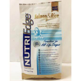Harga NutriEdge Salmon & Rice 1KG