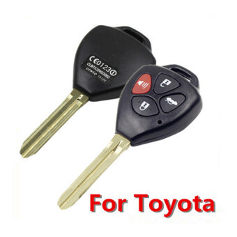 Harga 4 Buttons Remote Key Shell FOB Blade For Toyota Rav4 Camry Avalon Corolla Matrix