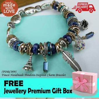 Harga Korea Finest Handmade Pandora-Inspired Charm Bracelet Fashion Gift High Quality Limited Edition (PDRC009)