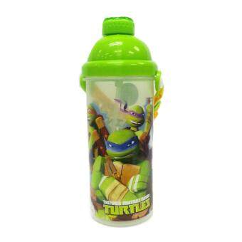 Harga NINJA TURTLE TRAINING 650ML WATER BOTTLE WITH STRAW * BPA FREE