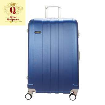 Harga Royal McQueen Hard Case Extra Light 8 Wheels 28 Luggage – QTH 6911 - BLUE ""