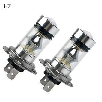 Harga BUYINCOINS 2 X High Power Foglight 120W Extremely Bright 6000K LED Lights Bulbs 1000LM DRL H4 H7 H8 H11 9005 9006 H7