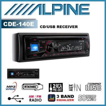 Harga Alpine CDE-140E CD Receiver with USB AUX IN MP3 PLAYER