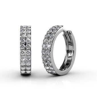 Harga Glamour Ring Earrings (Crystals from Swarovski®)