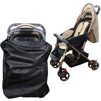 Harga Andux Baby Stroller Gate Check Bag for Travel Fit Most Standard Strollers TCT-01 Black