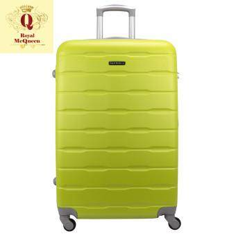 Harga Royal McQueen Hard Case 4 Wheels Spinner Light Weight 24 Luggage – QTH 6910 (GREEN)""