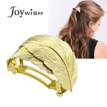 Harga Joywish Gold Silver Color Leaf Hairgrips Hair Accessories for Fashion Lady